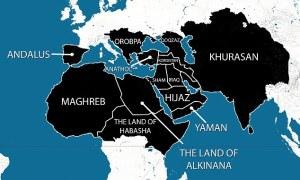 Mapa do Estado Islâmico