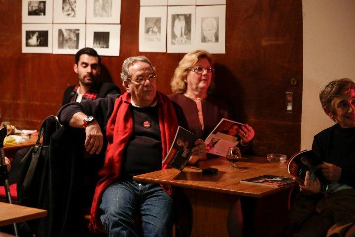 José Zaluar, Ana Diogo e Samuel Pimenta