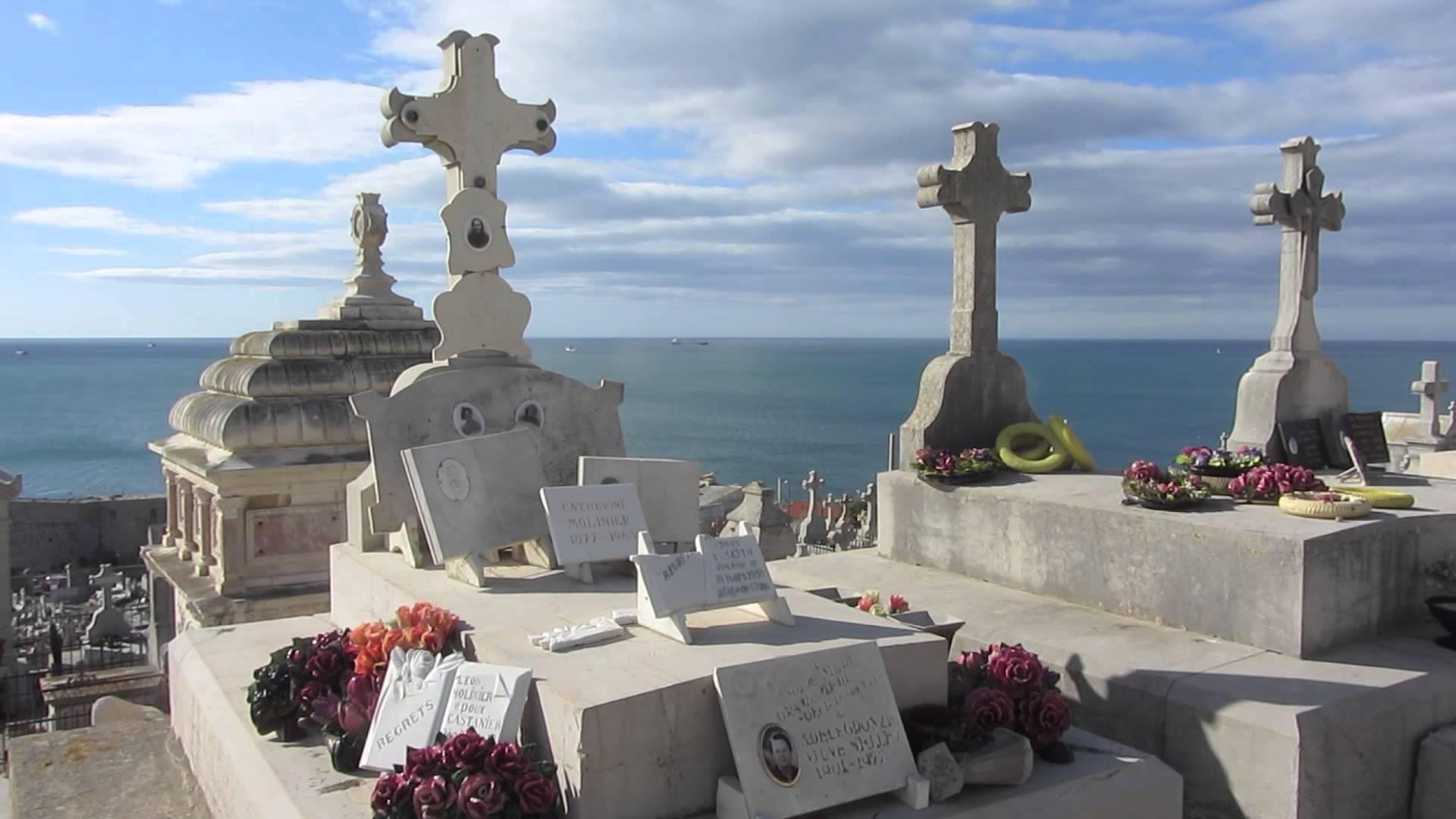 Le Cemitière Marin à Sète
